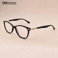 Wholesale spectacles frame styles resale online - 2019 Cat Eye Glasses Frame Women Rhinestone Decoration Styles Optical glasses Computer women s eyeglass spectacle frames