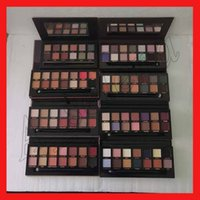 Wholesale famous brand eyeshadow resale online - Famous brand Eye Makeup Modern Master eye shadow Palette colors eyeshadow palette soft palette rose gold DHL Shipping