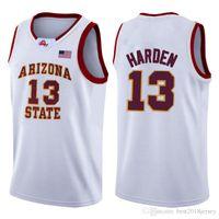 Wholesale university red for sale - Group buy 2020 TOP GREEN LeBron James NCAA Harden Basketball Jersey Arizona University State Bethel Irish High School Jerseys axewf