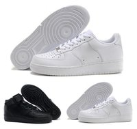 Wholesale floor mopping shoes slippers resale online - 2020 Slippers High quality latest men s fashion low top white forced shoes ladies black like neutral high top one casual shoes