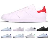 buy popular 6cd85 8dd94 adidas stan smith Barato Hombres Mujeres Entrenador de velocidad Zapatos  casuales de moda triple negro blanco azul rojo verde verde para hombre  Zapatillas ...