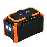 batería de litio de emergencia al por mayor-Batería de litio del salto del coche Starter Kit de alimentación portátil Batería auto 100Wh de emergencia cargador de teléfono de alimentación con QC3.0 puertos USB