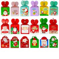 ingrosso pacchetto regalo di mele-Natale Frutta Gift Box 9 centimetri di Apple Box Vigilia di Natale di Apple Packaging vende box della decorazione di Natale L359