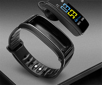 Wholesale bluetooth speaker watches resale online - Smart Bracelet And Bluetooth Headphone With Mic Two in one Talkband Y3 Fitness Tracker Smartband Speaker Watch For Iphone Samsung Huawei Mi