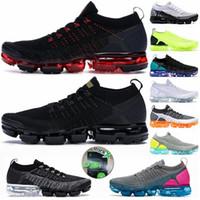 Wholesale womens jogging resale online - 2020 Vapors Knit Cushion Running Shoes Triple Black Metallic Gold CNY Dusty Cactus Maxes Cinder Mens Womens Designer Sneaker