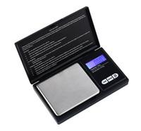 bijoux mini lcd balance de poche achat en gros de-100 g /0.01g 200g / 0.01g 500g / 0.1g 1000g / 0.1g Mini LCD Pocket échelle de bijoux numérique, balances Balance des diamants en or Poids