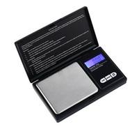 mini dijital ağırlık tartıları toptan satış-100g / 0.01g 200g / 0.01g 500g / 0.1g 1000g / 0.1g Mini Cep LCD Dijital Takı Ölçeği, elmas Altın Denge Ağırlığı Ölçekler