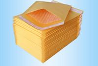 papierblasen-umschlag großhandel-Universal Papiertüten Kleine Kraft Bubble Mailer Gepolsterte Umschläge Taschen Mailer Selbstdichtende Versandverpackung Packung