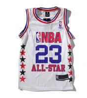 coletes de malha venda por atacado-C996 ins net vermelho all-star temporada uniforme de basquete Bryant retro malha jersey esportes colete T Camisa Dos Homens T Camisa