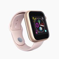новые умные часы оптовых-Новые смарт-часы Z6 с SIM-картой TF Bluetooth Call Band 1,54-дюймовый ПК Q3 Q9 Sport SmartWatch Поддержка Facebook для Samsung