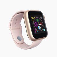ingrosso tf sim card-Nuovo Z6 intelligente orologio con carta di Sim TF Bluetooth chiamata Banda 1,54 pollici PK Q3 Q9 Sport Smartwatch Supporto Facebook per Samsung