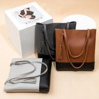 Wholesale lady handbag for sale - Fashion Woman Shoulder Fringed Bag Retro Covered Coin Purse Bag Shoulder Ladies Casual Totes Tassel Female Handbags LJJT253