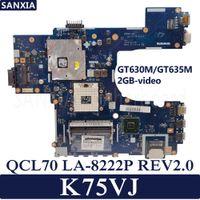 Wholesale motherboard asus for sale - KEFU QCL70 LA P REV2 Laptop motherboard for ASUS K75VJ Test original mainboard GT630M GT635M GB