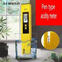 ingrosso tipi di test idrici-Portatile ad alta precisione impermeabile pH dell'acqua Strumenti di Test di qualità penna della prova della penna digitale Tipo PH Acidità Meter