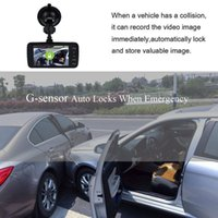 Wholesale lcd dashboard for car for sale - Group buy 4 INCH LCD IPS Dual Lens Car Dash FHD monitor for rear view camera P Dashboard monitor forCamera DEGREE Driving DVR car dvr