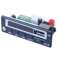 modules usb mp3 achat en gros de-Fonction mémoire Accessoires audio en plastique Lecteur de carte Bluetooth MP3 durable avec USB WAV Radio FM Module Interface Board décodeur