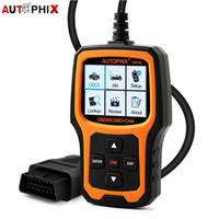 Wholesale scanner live resale online - Autophix OM126 OBD2 Code Reader ECU Live Data OBD Auto Scanner Multi language OBD2 Auto Scanner PK ELM327 Car Diagnostic Tool