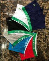 hombres pantalones cortos al por mayor-Los últimos calzoncillos boxer de algodón para hombre calzoncillos boxer masculinos con estampado de cocodrilo Pantalones Seven Colors
