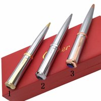 письменные камни оптовых-Роскошная ручка с каменной знаменитой шариковой ручкой, fasion ct, написание бренда, поставщик Ручка или подарочная коробка