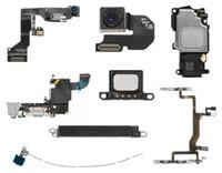 kablo anten konnektörü toptan satış-Apple iPhone 6s için Flex Kablo Kamera / Kulaklık Kulak / ses başlat düğmeleri / Anten / şarj konektörü / hoparlör / Sensör Flex Kablo
