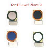 kabel-scanner reparieren großhandel-für huawei nova 2 fingerabdruck-tastenscanner home button flex kabel touch id sensor rückkehr flex kabel ersatzteile