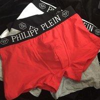 männliche unterwäsche boxer slips großhandel-Designer marke mens boxer männer unterhose kurze für mann underpanties sexy underwear mens boxer baumwolle underwear shorts männlich