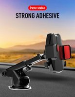 Wholesale dashboard bracket for sale – best Car Arm Suction Cup Mobile Phone Bracket Navigation Bracket Mobile Phone Holder Dashboard Stand Auto Cellular Support