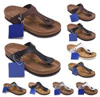 Wholesale new sandals pu for men for sale - Group buy Gizeh Summer slippers for men and women new cork bottom flip flops sandals with a couple flip flope flip flops Mayari