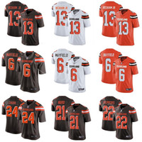 differently 1760b 8a849 Wholesale Baker Mayfield Jersey for Resale - Group Buy Cheap ...
