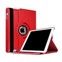 Wholesale bundle purple rose for sale - 360 Degrees Rotating Case for iPad Air Flip Leather Cover With Smart Stand Holder for iPad inch iPad