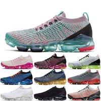 ingrosso laser è aumentato-Nike Air Vapormax Flyknit 3.0 TN Plus TN scarpe da corsa TN plus tn 3.0 per uomo Donna South Beach Sneakers ROSE RISE laser arancione triple nere di design