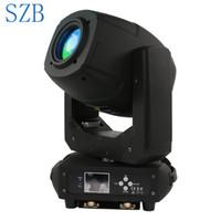 ingrosso zoom luce spot-Proiettore a LED da 230 W a fascio luminoso Spot Zoom Lira a rotazione 6 + 5 Prisma a due effetti per DJ Nightclub Party Light / SZB-MH230A