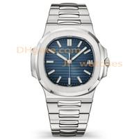 calendários relógio de aço inoxidável venda por atacado-Luxo mens novo calendário mecânico automático de 40mm relógio de aço inoxidável dos homens de negócios luminosa de mergulho à prova d 'água 30 M relógio