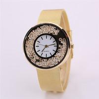 kristal boncuklar saatler toptan satış-Bayanların Saat Saati Bayan Kum Saati
