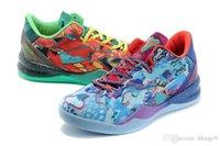 en iyi fiyatlı basketbol ayakkabıları toptan satış-Orijinal en iyi ZOOM KOBE VIII 8 SISTEM PREMIUM basketbol ayakkabı erkekler için fabrika fiyat Ne kobe ayakkabı Spor Sneakers Boyut 7-12 jetleri