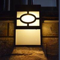 peyzaj duvar çit aydınlatma toptan satış-Güneş Duvar Işıkları Açık, Güneş Ledli Güverte, Çit, Veranda, Ön Kapı, Merdiven, Peyzaj, Avlu ve Driveway Pat için Su Geçirmez Aydınlatma