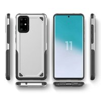 Wholesale TPU PC Dual Layer Hybrid Rugged Armor Case for Samsung Galaxy S20 Ultra S10 Plus S10e Shockproof Hard Cover
