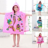 Kaninchen gedruckt Baby Kid Bad Strandtuch Microfiber Waschlappen Handtuch·Neu
