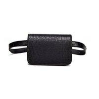 bolsitas pequeñas bolsitas al por mayor-Buena calidad Cinturón de cuero bolso de la cintura de las mujeres Paquetes de la cintura Bolso de Fanny Bolso femenino Bolso de la correa para la cadera de las señoras Handy pequeño bolso de hombro
