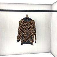 blusas de pescoço zip venda por atacado-19ss mens Sweaters Designer De Luxo outono G Estrela Jacquard Zip Algodão Pano Cardigan Tartaruga Pescoço manga longa etiqueta real tag notícias 2019