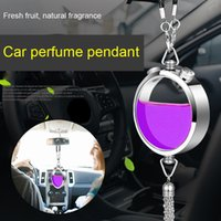 Wholesale v6 cars for sale - Group buy Car Air Freshener Perfume Bottle Diffuser DIY Kit Car Interior Decor V6