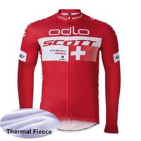 bc0aaa4ef Ropa Ciclismo 2019 New SCOTT Men cycling jersey Racing bicycle Tops MTB  winter long sleeve Thermal Fleece cycling clothing Y012305