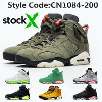 Wholesale shoe stock x for sale - Group buy TOP Quality Jumpman Stock x Travis Scott s cactus jack mens Basketball Shoes M Reflective Infrared Oregon Ducks mens trainers sneakers