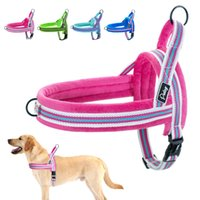 Wholesale small steps for sale - Group buy No Pull Dog Harness Reflective Heavy Duty Dog Harness Vest Step In Pet Puppy Harnesses for Small Medium Large Big Dogs Pitbull