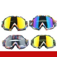 Wholesale cross country goggles for sale - Group buy Man And Women Skiing Goggles Cross Country Mountain Climbing Blinkers Yellow Transparent Colourful Lens Retro Protective Glasses ms D1