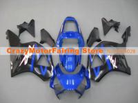carenados para honda cbr 954 al por mayor-Nueva inyección ABS carenados de la motocicleta kit para HONDA CBR 954RR 954 2002 2003 CBR954RR CBR 900RR 02 03 carenados partes negras de encargo azul