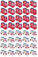 ingrosso maglia russa xxl-Coppa del mondo Maglie della Russia WCH 8 Alex Ovechkin 86 Nikita Kucherov 71 Evgeni Malkin 72 Sergei Bobrovsky 13 Pavel Datsyuk Maglia da hockey russa