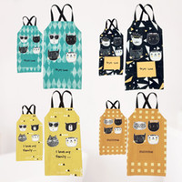 Wholesale waterproof aprons for children for sale - Group buy 1Pcs Kitchen Cotton Linen Apron Sleeveless for Men Women Home Cleaning Tools Waterproof and oil Parents and children Apron