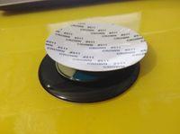 pegatinas de rueda azul al por mayor-Coche stying 100PCS 79mm 68mm insignia del emblema del coche Pegatina Centro de la rueda Tapas azul blanco negro blanco para BMW X1 X3 X5 X6 E46 E39 E60 E90 tapacubos