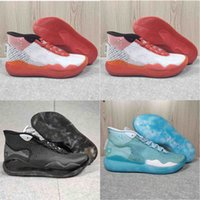 Wholesale newest kevin durant basketball shoes for sale - Group buy 2020 newest Mens Trainers KD EP Foam Gao Bang Pink Paranoid Oreo ICE Basketball Shoes Original Kevin Durant XI KD11 Sneakers Size